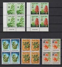 fleurs années 80 Royaume du Maroc 20 timbres neufs /T576