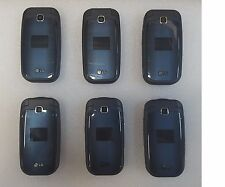 Lot of 6 LG 450 - Black (T-Mobile) Cellular Phones