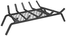 "NEW HOMEBASIX 9972266 23"" INCH 5 BAR  FIREPLACE STOVE GRATE WITH EMBER RETAINER"