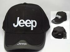 Lowest Price! J1 Jeep Black Cap Hat 3d Golf Racing Rally 4WD - Limited Time New