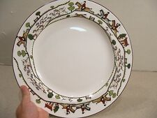 """Crown Staffordshire HUNTING SCENE 13 1/2"""" Round Chop Plate Platter CLEARANCE"""