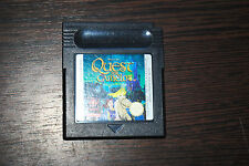Jeu QUEST FOR CAMELOT pour Nintendo Game Boy