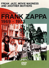 "FRANK ZAPPA ""FREAK, JAZZ, MOVIE MADNESS & ANOTHER MOTHERS"" 1969-1973  Sealed DVD"