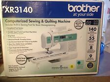Brother 140 St  Computerized  Sewing Machine XR3140 + BONUS ITEMS & INT SHIPPING