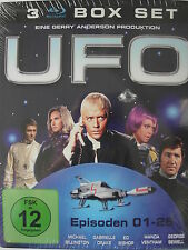 UFO - Box - Kult - Serie der 70-er - Alien - Shado - Ed Bishop - RAR & OVP!!!
