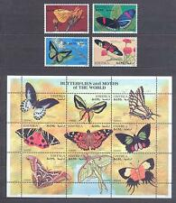 ERITREA 1997, Butterflies, set of 4 + 18(2MS) + 2SS, MNH**(50)