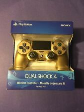 Official Sony Dualshock 4 Wireless Controller *Limited GOLD Edition* for PS4 NEW