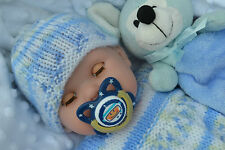 "PJs BERENGUER LA NEWBORN 16"" SOFT BODY SNUGGLY BABY BOY DOLL FOR REBORN PLAY BN"