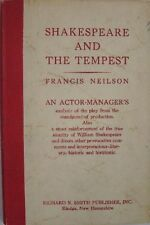SHAKESPEARE AND THE TEMPEST - FRANCIS NEILSON - AN ACTOR-MANAGER'S ANALYSIS