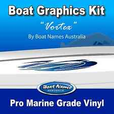 Boat Graphics Kit - Vortex