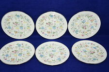 """Lenox Oxford Garden Party Lot of (6) Dessert or Bread & Butter Plates 6 1/2"""""""