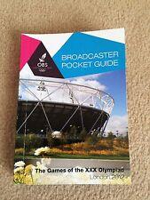 Guía de bolsillo emisora de Londres 2012 OBS