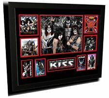 KISS SIGNED LIMITED EDITION FRAMED MEMORABILIA