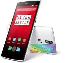 OnePlus One White 16GB 13MP camera 4G LTE SEALED unlocked mobile phone