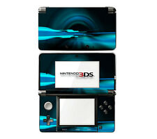 Vinyl Skin Decal Cover for Nintendo 3DS - Abstract Future Night Blue