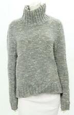 Rag & Bone Grey Wool Funnel Neck Sweater Size Large