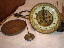 "Antique-French Clock Movement ""Marti"" To Restore-Ca.1900--#N266"