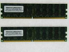 8GB 2x4GB Dell PowerEdge SC1425 Mémoire PC2-3200 ECC REG
