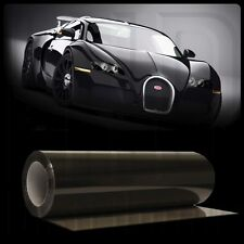 "Black Light Smoke Headlight Taillight Tint Vinyl Wrap Overlay Film - 24"" x 12"""