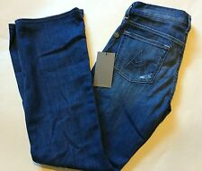 7 FOR ALL MANKIND JEANS A POCKET FLARE LEG MID BLUE 24S