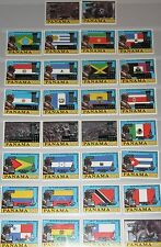 PANAMA 1980 1335-94 I-IV Flags  Bolivar Olympics Moscow ovp silver Gold MNH