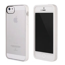 Genuine Griffin Reveal Case Cover for Apple iPhone 5/5S - White/Clear Slim Fit