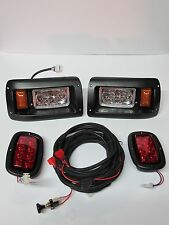 Club Car DS 1993+ Golf Cart With FULL LED Headlight & Taillight LIGHT KIT