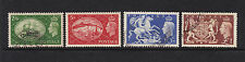 UK 1951 White Cliffs of Dover 5s Stamp mint includes used set to one pound brown