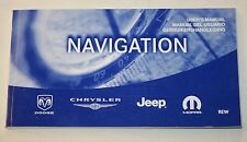 JEEP DODGE CHRYSLER MOPAR SAT NAV NAVIGATION HANDBOOK OWNERS MANUAL !!