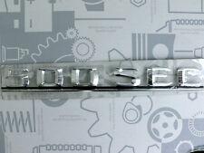 Original Mercedes Schriftzug / Typbezeichnung / Typkennzeichen 500SEC W126 NEU!