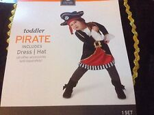 NWT NEW Pirate Dress Hat Halloween Costume Toddler Infant Child 18-24M boys