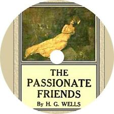 The Passionate Friends, H. G. Wells Love, Sex, Romance Audiobook on 1 MP3 CD