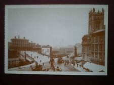 POSTCARD LANCASHIRE MANCHESTER approach road to Manchester Exchange Station 1889