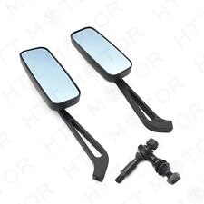 Anti Glare Blue Glass Rearview Mirror for Harley Dyna Motorcycle Bikes
