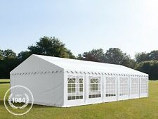 6x12m Heavy Duty PVC Marquee, Bolt Steelconstruction, Wedding Party Tent, white