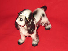 Vintage porcelain Robert Simmons Mama Cocker #2038 Cocker Spaniel dog figurine
