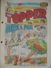 The Topper Comic 7th May 1988 (Issue 1840)