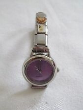 BlinQ Silver Tone Stainless Steel Charm Watch Special Olympics MARLA