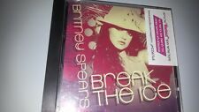 BRITNEY SPEARS break the ice 1TR PROMO  HEBREW STK  ISRAELi PROMO cd
