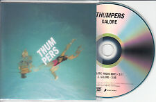 THUMPERS Galore UK 2-trk promo test CD radio edit