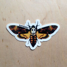 Supreme skateboard sticker vinyl decal bumper moth Silence Lambs insect 2015 SK8