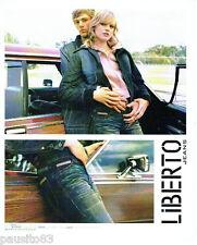 PUBLICITE ADVERTISING 056  2003  Liberto  pret a porter jeans veste
