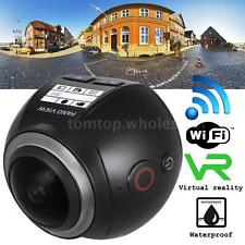 WiFi ULTRA-HD 360° 3D VR Panoramic Digital Video Action Camera DV Camcorde