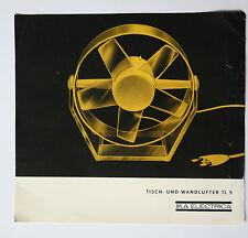originale Werbung Gebrauchsanleitung DDR Tisch-Wandlüfter TL5 IKA Electrica (21)