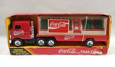 Buddy L Coca-Cola Delivery Truck w/ Coke Trays and Hand Truck 1985 NIB
