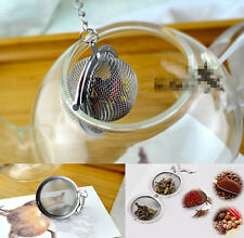 Portable Wedding Tea Strainer Herbal Spice Filter Diffuser Stainless Steel Ball