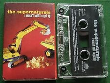 The Supernaturals I Wasn't Built to Get Up Cassette Tape Single - TESTED