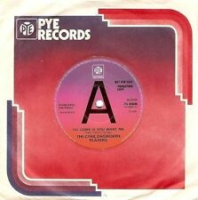 "THE CYRIL DAGWORTH PLAYERS I'll Come If You Want Me 7"" Record Promo Pye 1976 EX"