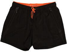 Emporio Armani EA7 Kurze Lauf Hose Shorts Running Pants Größe M Schwarz Black