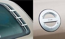 For Hyundai Santa Fe 2001 - 2006 Chrome C pillar and Fuel Door Cover Set